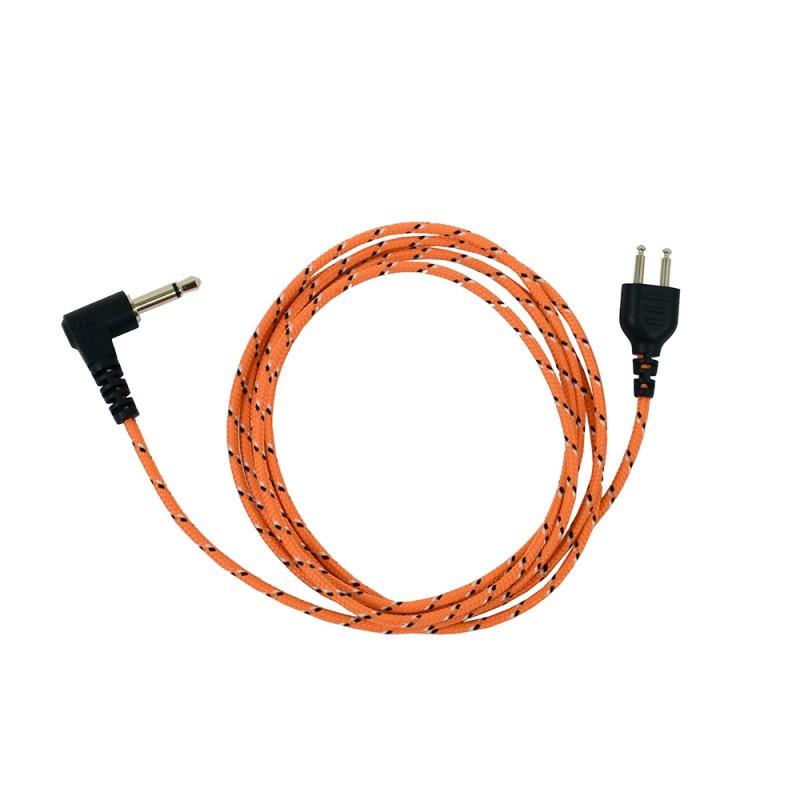 ProEquip Orange FabricLine för Peltor 3,5mm-1,25m