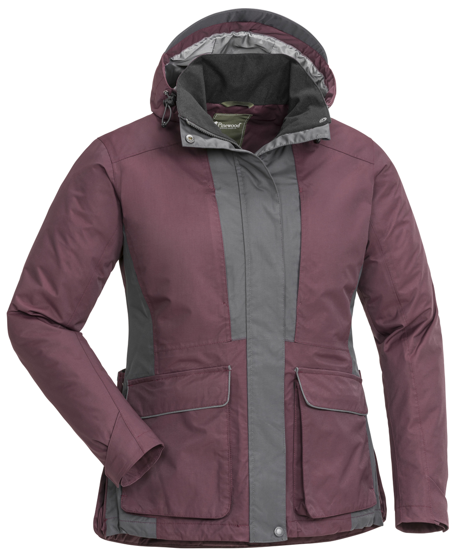Pinewood Jacka Dog Sports 2.0 Dam Plum/Mörkantracit