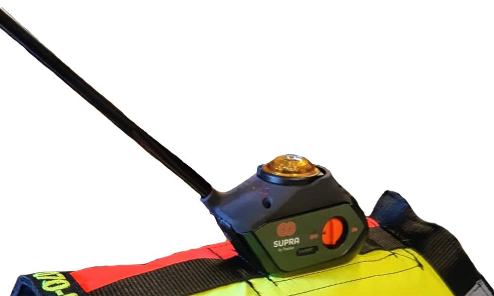 Tracker Antenn lampfäste till väst