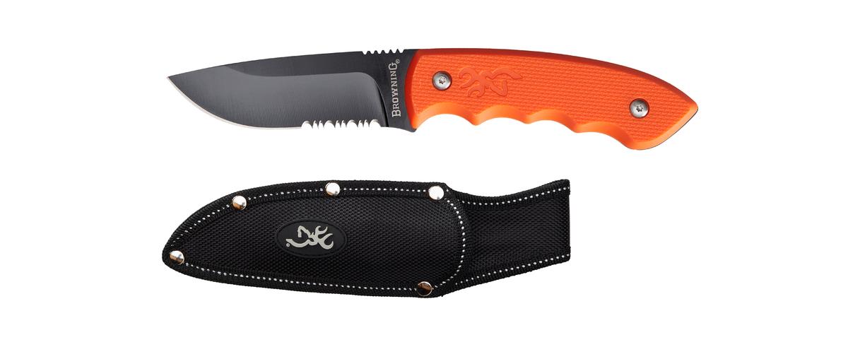 Browning Kniv Explorer Fixed Orange
