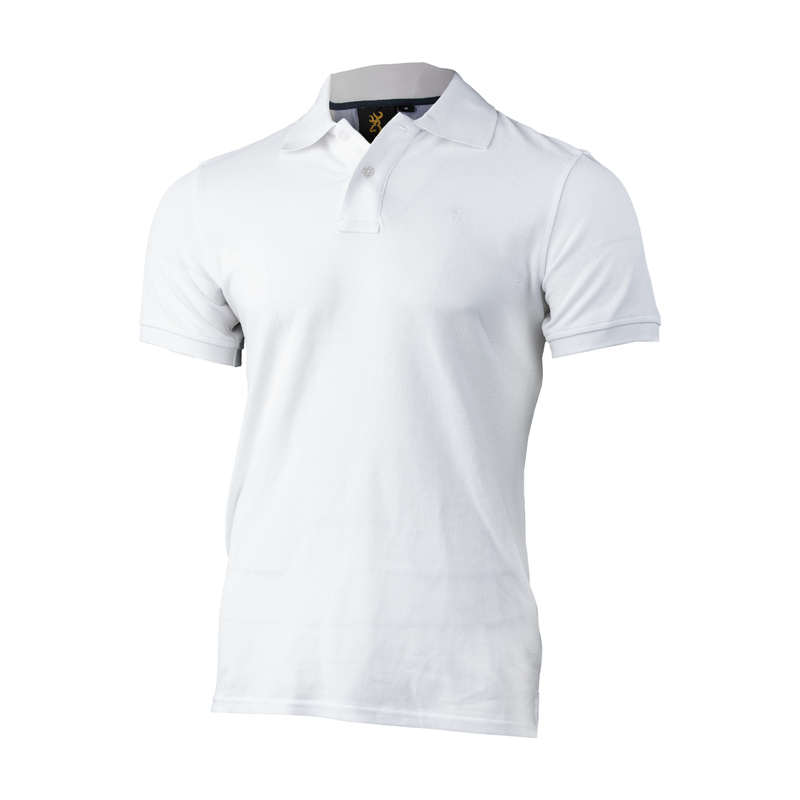 Browning Ultra 78 Polo Shirt Vit
