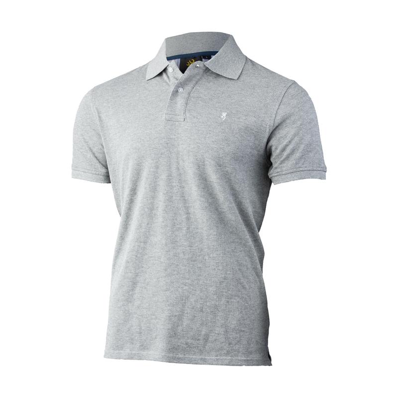 Browning Ultra 78 Polo Shirt Grå