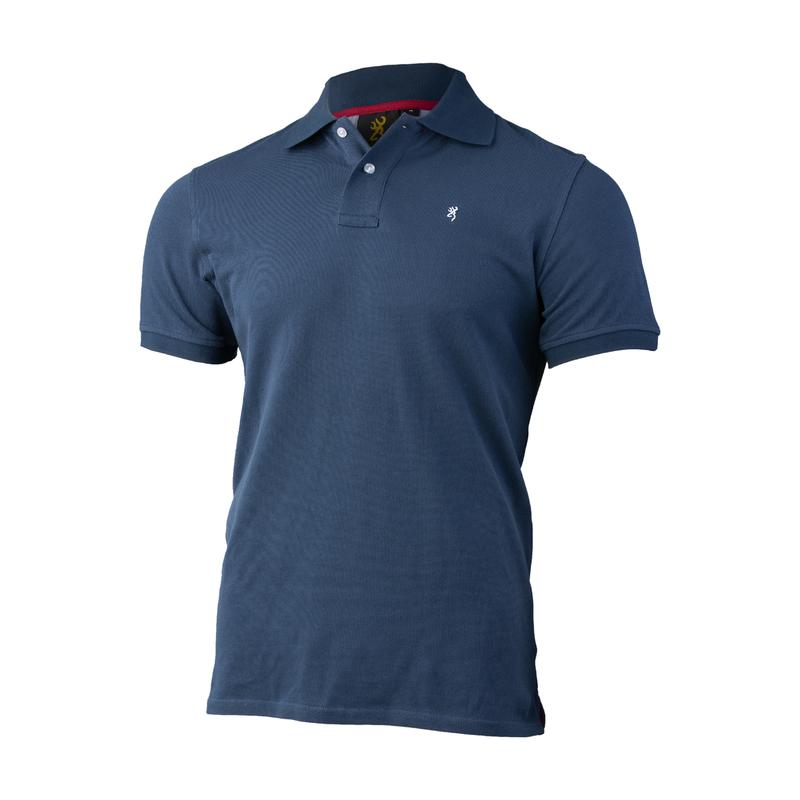 Browning Ultra 78 Polo Shirt Blå
