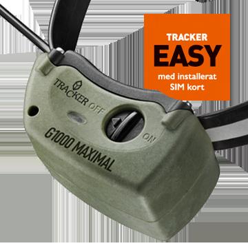 Halsband Tracker G1000 Easy