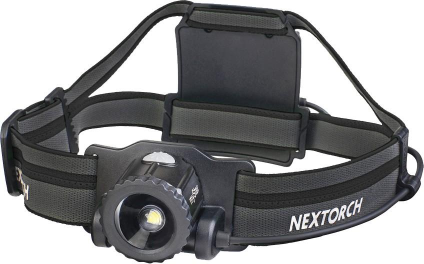 Nextorch pannlampa myStar svart 760lm