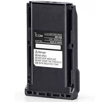 Icom Batteri BP-232H Li-Ion 74V 2300mAh