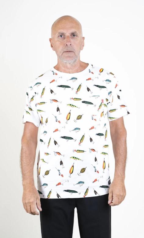 SQRTN Lure Pocket T-shirt White