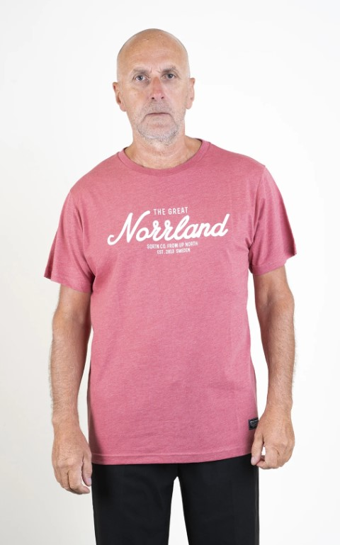 SQRTN Great Norrland T-shirt Red Heather