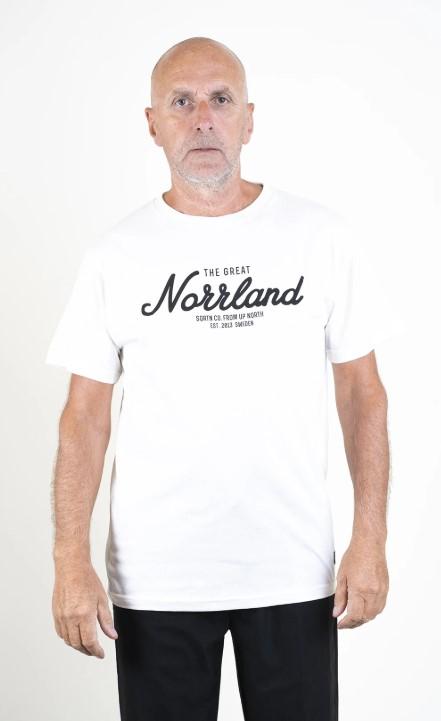 SQRTN Great Norrland T-shirt White