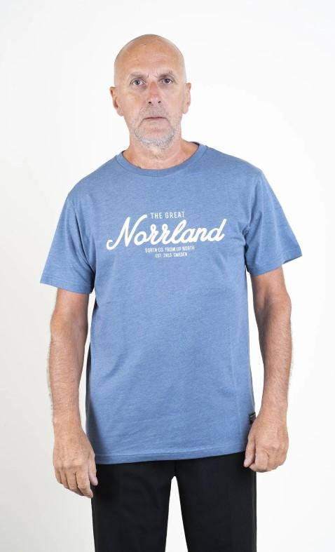 SQRTN Great Norrland T-shirt Blue Heather