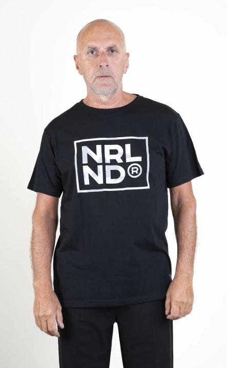 SQRTN NRLND T-shirt Black