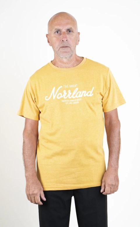 SQRTN Great Norrland T-shirt Mustard