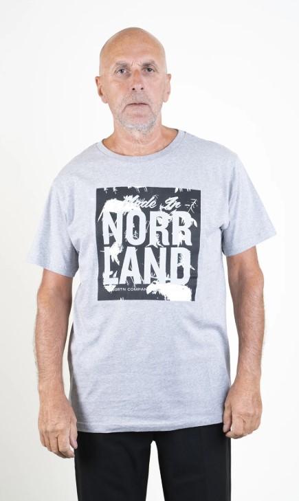 SQRTN NRLND T-shirt Heather Grey