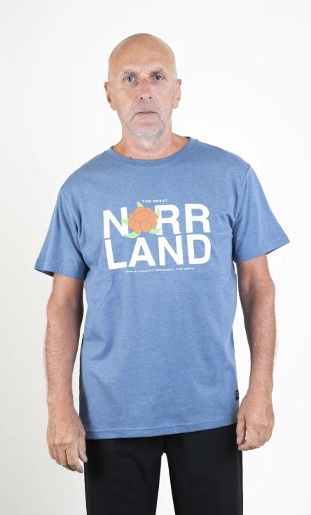 SQRTN Represent T-shirt Blue Heather