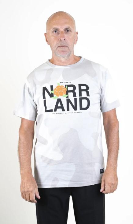 SQRTN Represent T-shirt Grey Camo