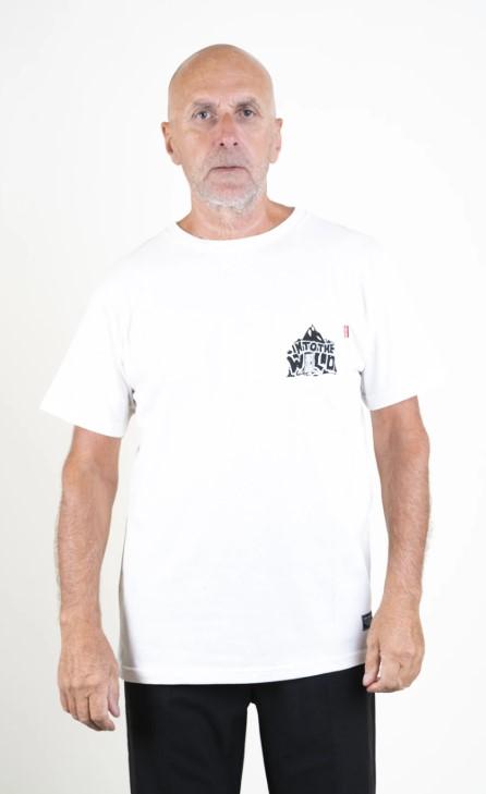 SQRTN Tree Pocket T-shirt White