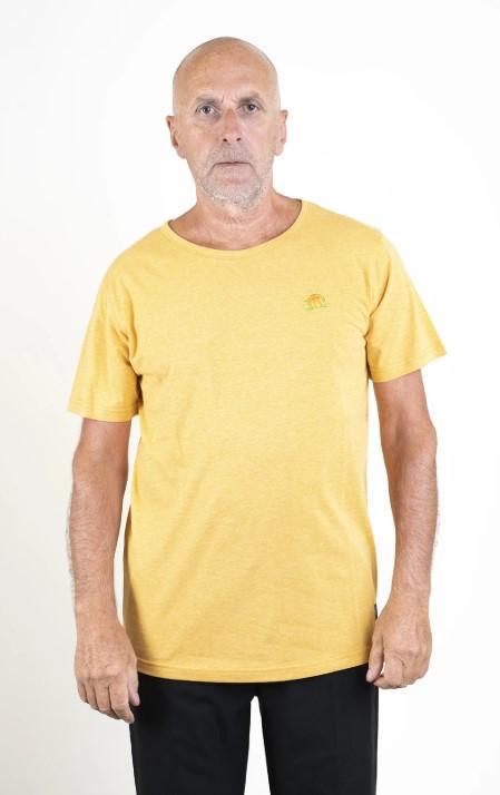 SQRTN CB T-shirt Mustard