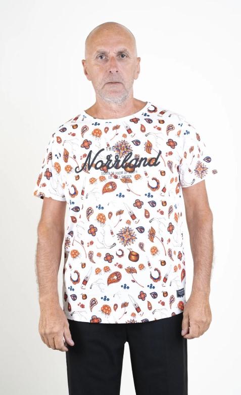 SQRTN Great Norrland T-shirt Sapmi White