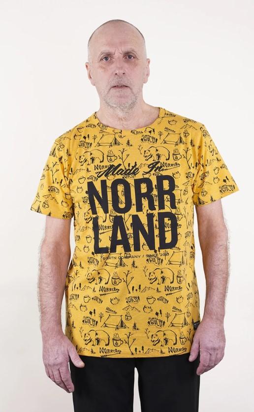 SQRTN Made In T-shirt Into Mustard