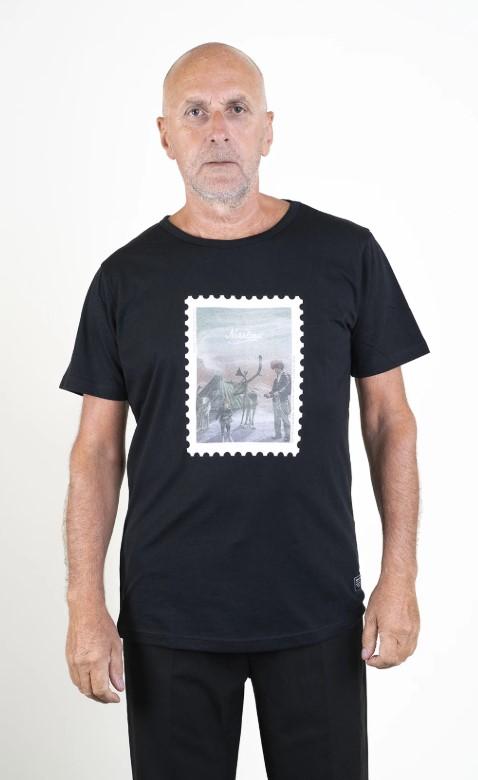 SQRTN Stamped Sapmi T-shirt Black