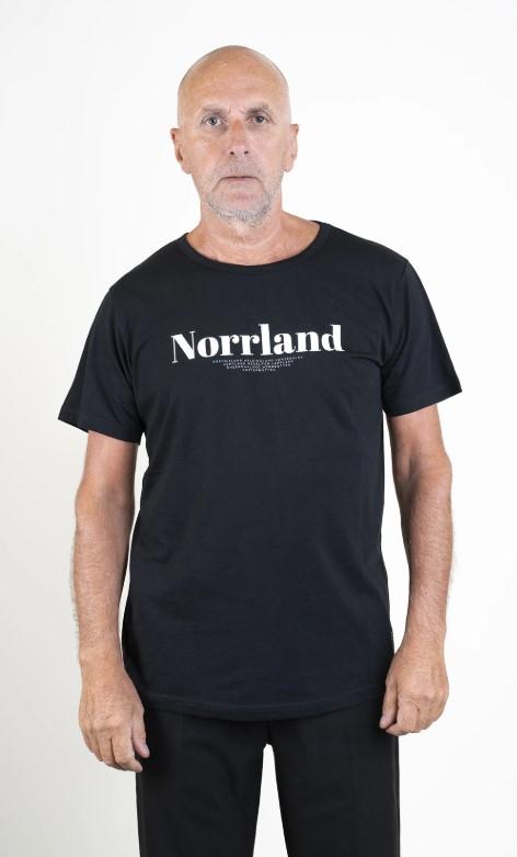 SQRTN Landscape T-shirt Black