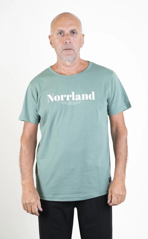 SQRTN Landscape T-shirt Pale Green