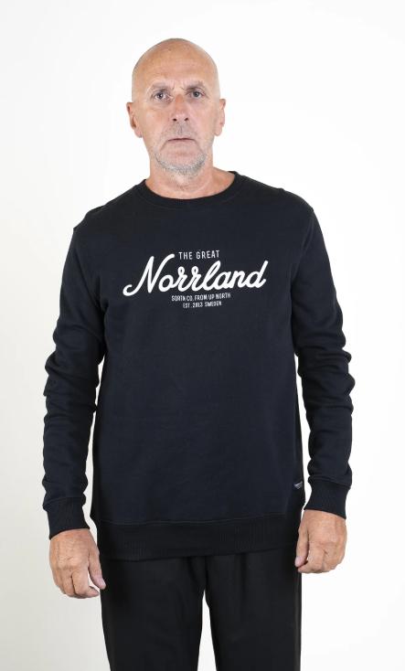 SQRTN Great Norrland Crewneck Black