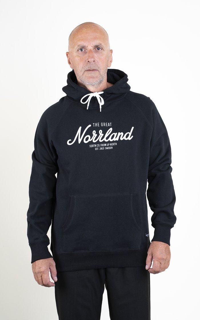 SQRTN Great Norrland Hood Black