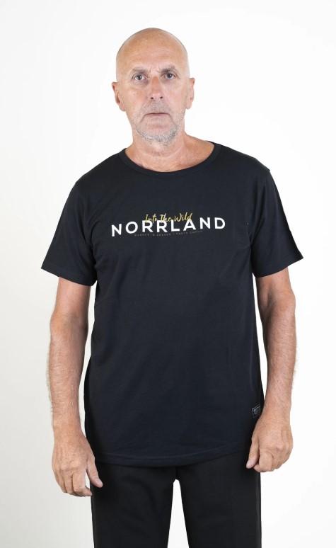 SQRTN Golden T-shirt Black