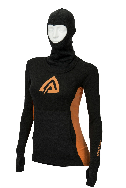 Aclima Warmwool Hooded Sweater Dam UTFÖRSÄLJNING
