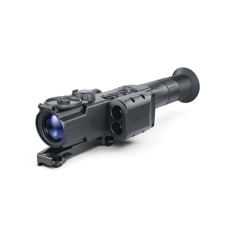 Pulsar Digisight Ultra N455 LRF Mörkersikte Avstsåndsmätare med Weaver Snabbfäste