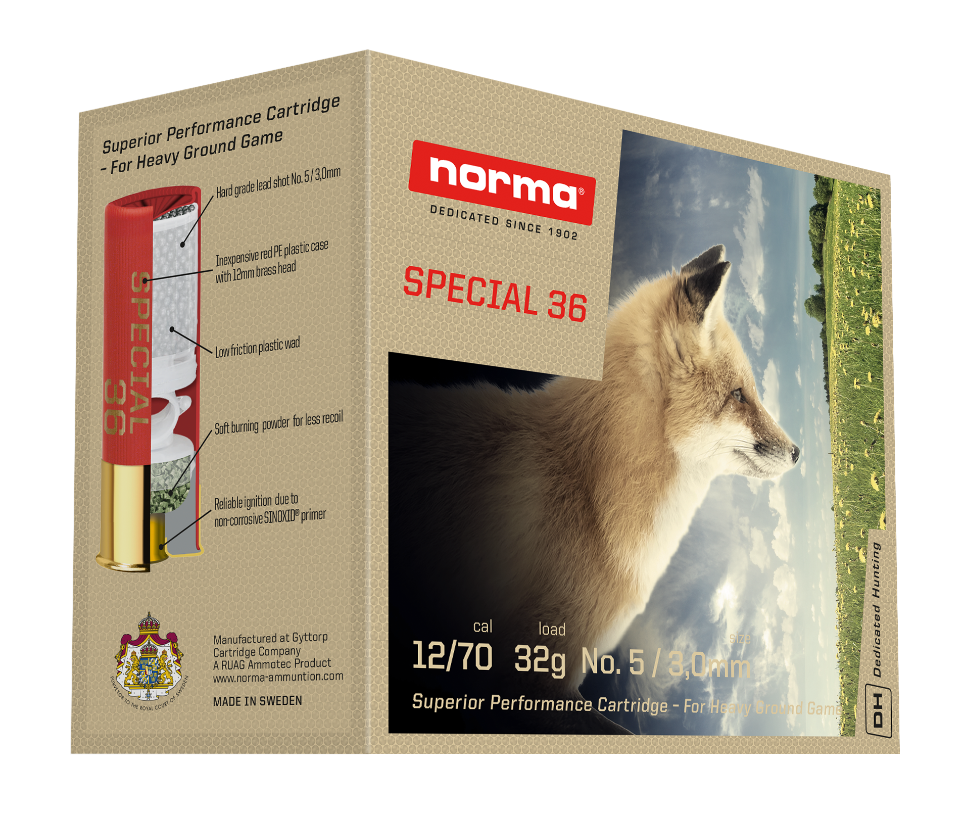 Norma Special 36g 12/70 US5