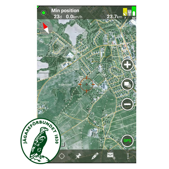 Tracker Hunter Licens Andrioid/ iOS, Jägareförbundet