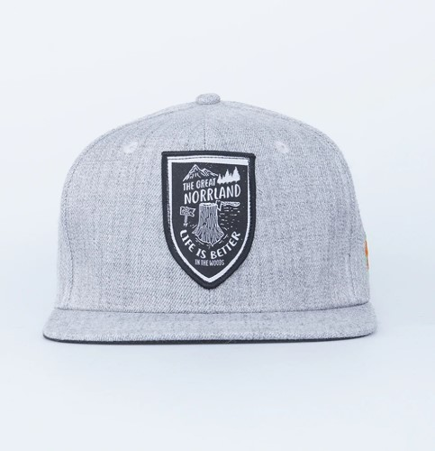 SQRTN Stock Cap Grey