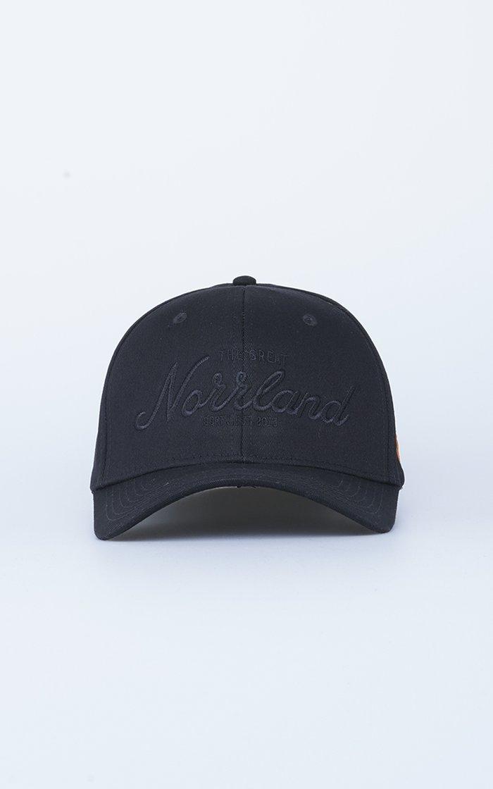 SQRTN Great Norrland Flex Keps All Black