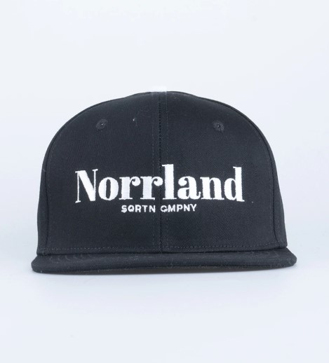 SQRTN Landscape Cap Black