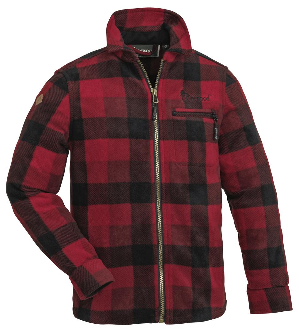 Fleeceskjorta Pinewood Kanada Barn