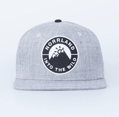SQRTN Into Emblem Cap Grey