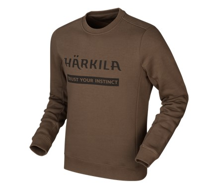 Härkila Sweatshirt Slate Brown