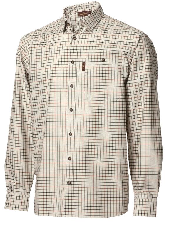 Skjorta Härkila Lancaster Blackberry Check UTFÖRSÄLJNING