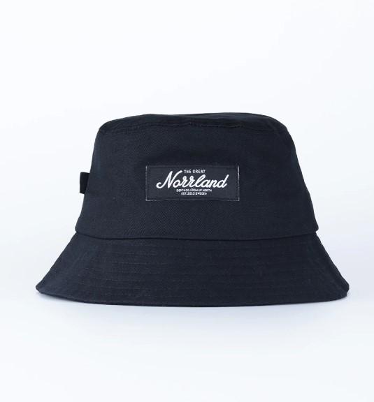 SQRTN Bucket Hat Black