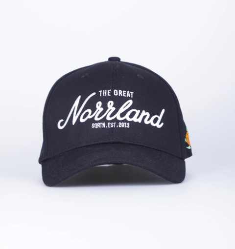 SQRTN Great Norrland Flex Cap Black