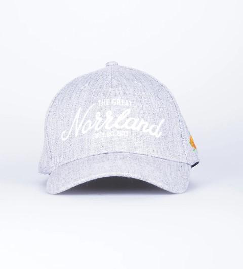 SQRTN Great Norrland Flex Cap Grey