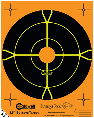 Caldwell Måltavla Orange Peel 55 Bullseye