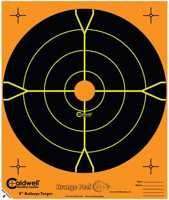 Caldwell Måltavla Orange Peel 8 Bullseye