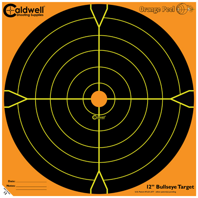 Caldwell Måltavla Orange Peel 12 Bullseye