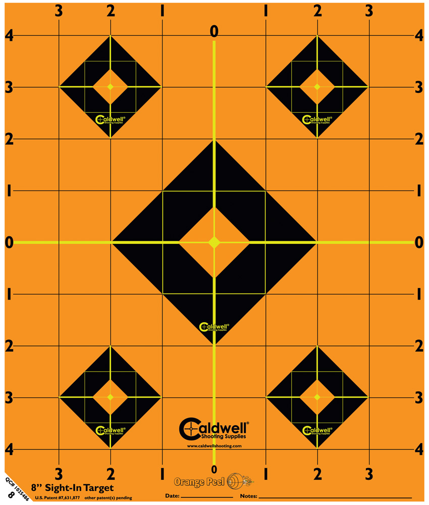Caldwell Måltavla Orange Peel 8 Sight-In Target