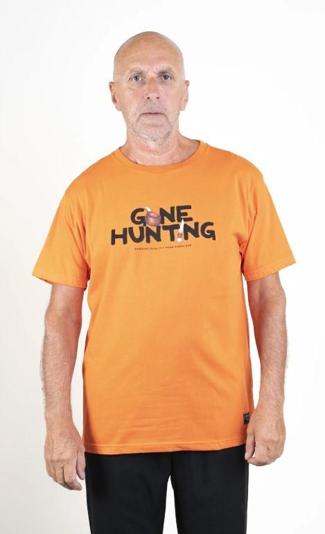SQRTN Gone Hunting T-shirt Orange
