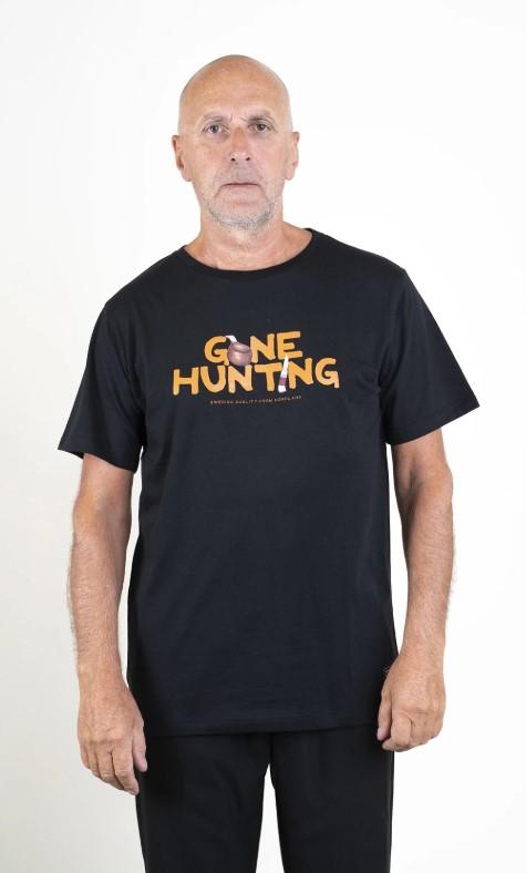SQRTN Gone Hunting T-shirt Black