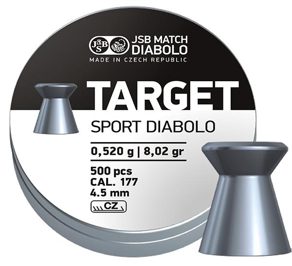 JSB Target Sport, 4,50mm - 0,520g